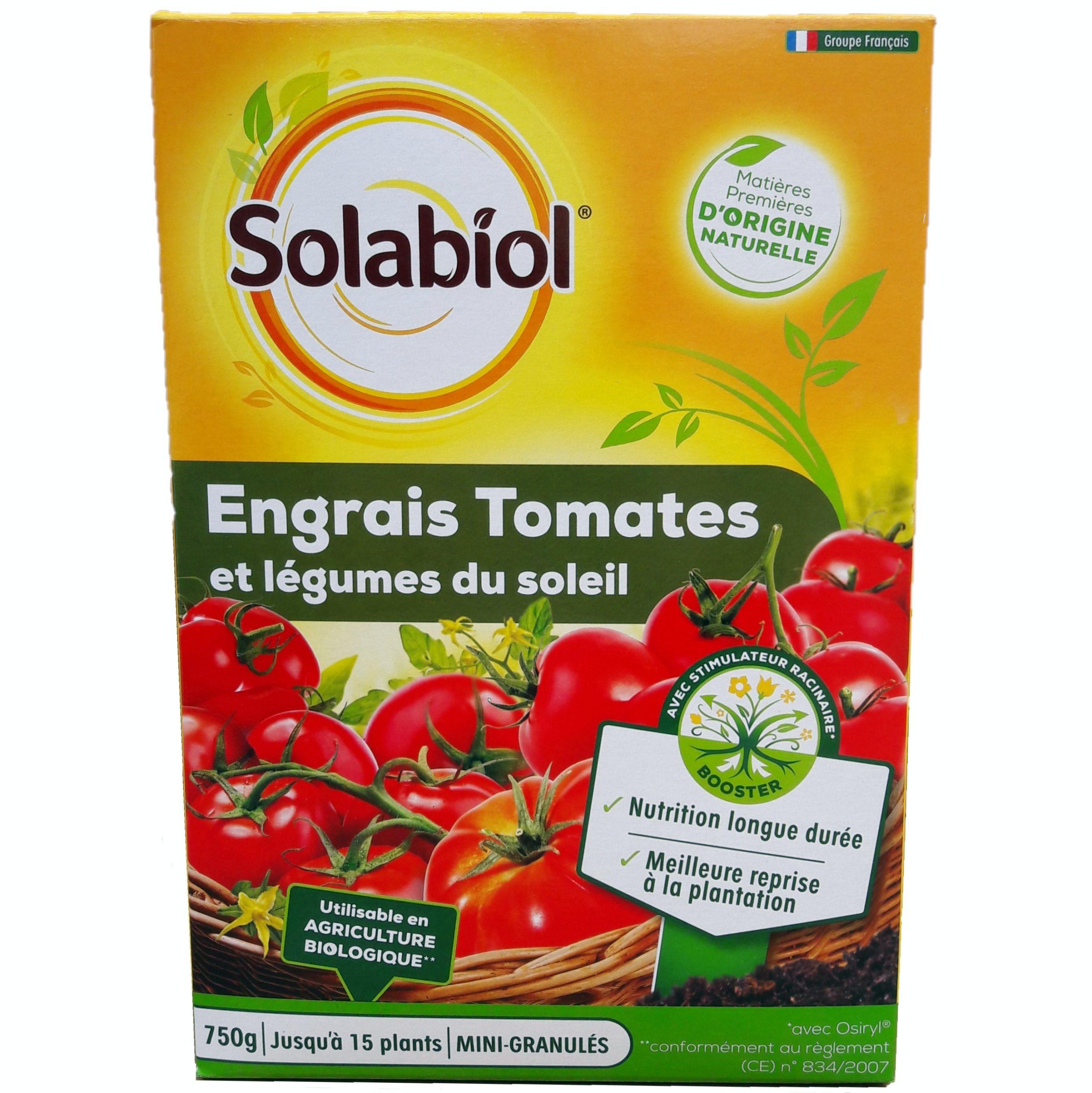 Engrais Tomates Et Legumes Du Soleil 750g Solabiol Isi Jardin