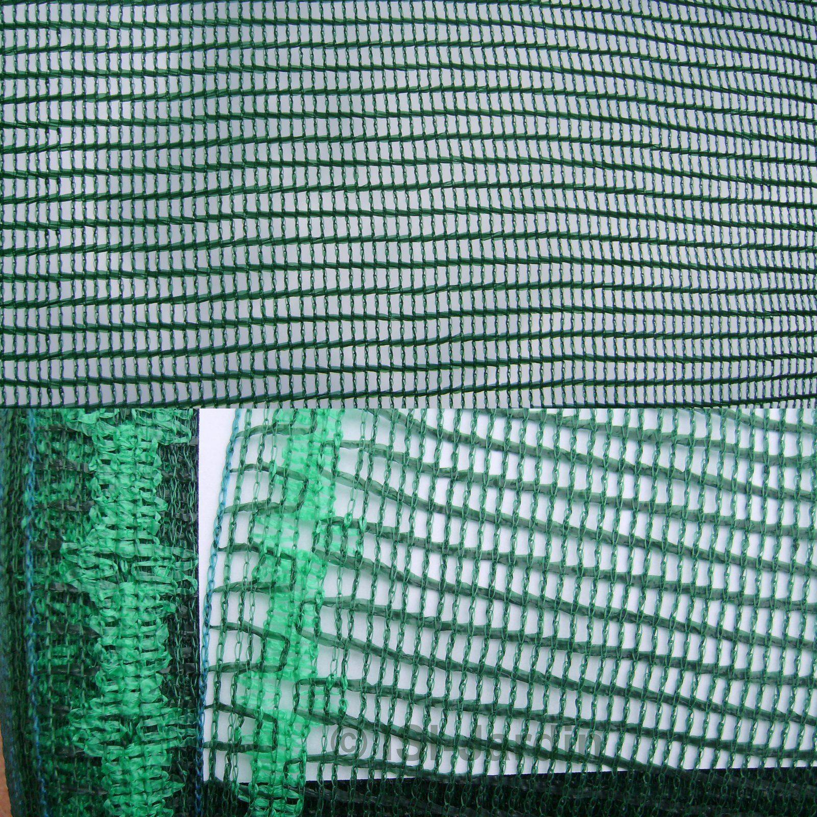 Toile Ombrage Au Metre filet d'ombrage 50%, vert foncé, 3 mètres de large, vendu au mètre linéaire