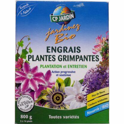 Engrais Plantes Grimpantes 800 grammes pour 5 à 16 plants