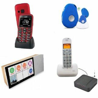 Tablettes et téléphones adaptés seniors