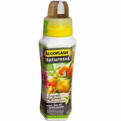 Engrais agrumes et plantes méditerranéennes 500ml Algoflash Naturasol