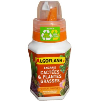 Engrais cactées et plantes grasses 250ml Algoflash