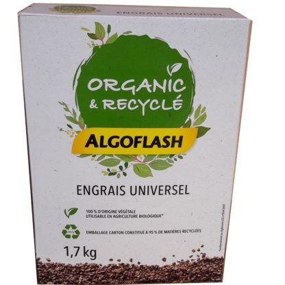 Engrais naturel universel 1.7kg Organic et Recyclé Algoflash
