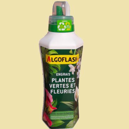Engrais plantes vertes et fleuries 1L Algoflash