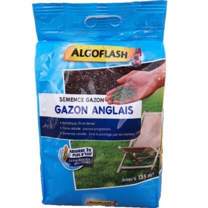 Gazon Anglais 3kg pour 135m² Algoflash