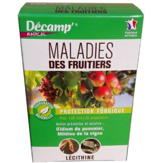 Maladies des fruitiers 75g Décamp