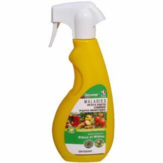 Maladies petits fruits Légumes Plantes aromatiques spray 750ml Décamp
