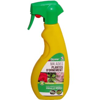 Maladies plantes d'ornement spray 750ml Décamp