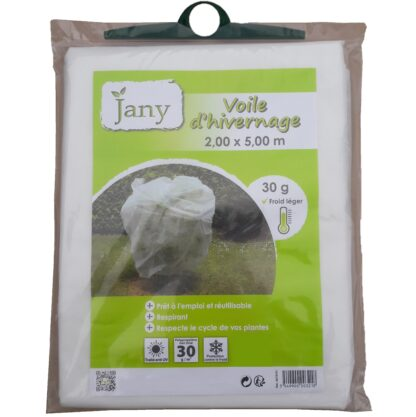 Voile hivernage 2m x 5m Jany